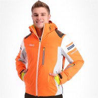 Deluni ski jacket, men, orange