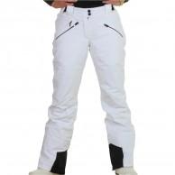 DIEL Val Gardena womens ski pants, white