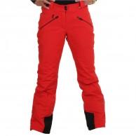 DIEL Val Gardena womens ski pants, red