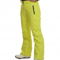 DIEL Livigno womens ski pants, yellow