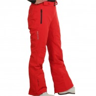 DIEL Livigno womens ski pants, red