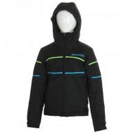 DIEL Sestriere, kids ski jacket, black