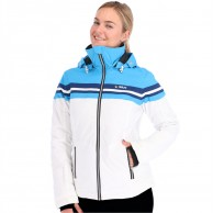 Deluni ski jacket, women, white