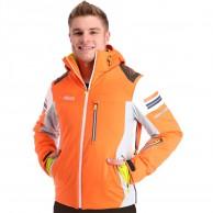 Deluni ski jacket, men, orange