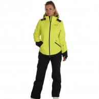 DIEL Zermatt ski jacket, women, yellow