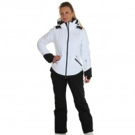 DIEL Zermatt ski jacket, women, white