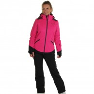DIEL Zermatt ski jacket, women, magenta