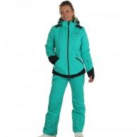 DIEL Zermatt. ski jacket, women, green