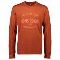Mons Royale Yotei Tech LS, base layer, men, clay