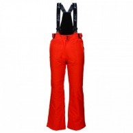 Deluni ski pants for women, red