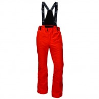 Deluni ski pants in large sizes, red