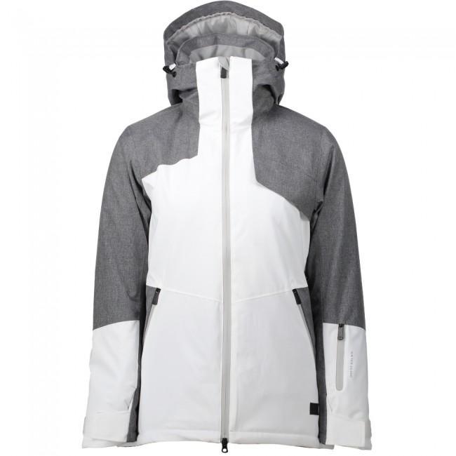 Five Seasons Elmira, ski jacket, women, grey met korting