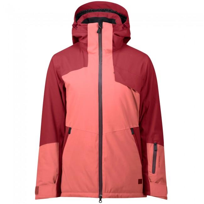 Five Seasons Elmira, ski jacket, women, red met korting