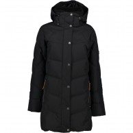 Five Seasons Kayla, long winter jacket, women, black