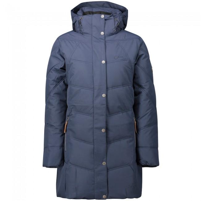 Five Seasons Kayla, long winter jacket, women, marine met korting