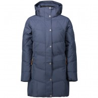 Five Seasons Kayla, long winter jacket, women, marine