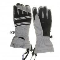 4F Ringo ski gloves, junior, grey
