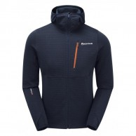 Montane Power Up Pull-Up Hoodie, men, blue
