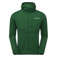 Montane Power Up Pull-Up Hoodie, men, green
