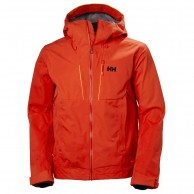 Helly Hansen Alpha Shell Jacket, men, grenadine