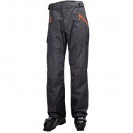 Helly Hansen Selkirk mens ski pants, graphite blue