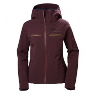 Helly Hansen W Alphelia Ski Jacket, women, wild rose