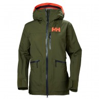 Helly Hansen W Powderqueen 2.0 Ski Jacket, women, ivy green