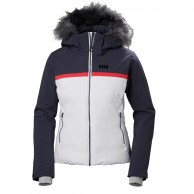 Helly Hansen W Powderstar, Ski Jacket, women, white