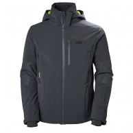 Helly Hansen Stoneham, ski jacket, mens, graphite blue