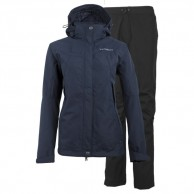 Tenson Monitor, Rain set, womens, dark blue