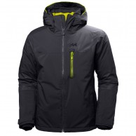 Helly Hansen Double Diamond ski jacket, mens, graphite blue