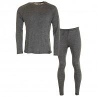 Trespass Wexler/Fitchner skiunderwear set, men, grey