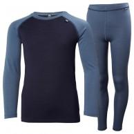 Helly Hansen Lifa Merino MId skiunderwear, set, junior, vintage ind