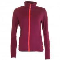 2117 of Sweden Essunga womens fleece jacket, magenta