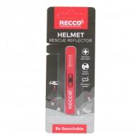 Recco Helmet Rescue, reflector, red