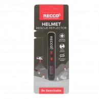 Recco Helmet Rescue, reflector, black