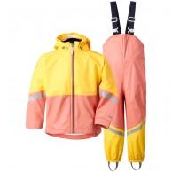 Didriksons Waterman, Rain Suit, kids, coral rose