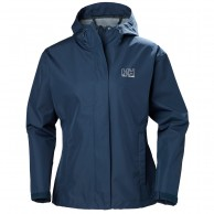 Helly Hansen W Seven J Rain Jacket, blue