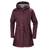 Helly Hansen W Kirkwall Rain Jacket, womens, wild rose