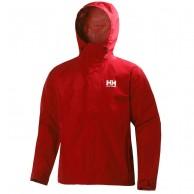 Helly Hansen Seven J, Rain jacket, mens, alert red