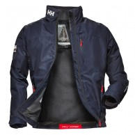 Helly Hansen Crew Midlayer Jacket, men, navy