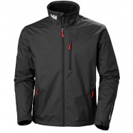 Helly Hansen Crew Midlayer Jacket, men, black