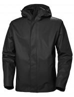 Helly Hansen Moss, rain Jacket, men, black