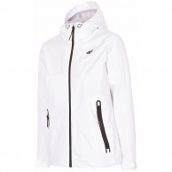 4F Linda, Shell jacket, women, white