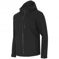 4F Louis, Shell jacket, men, black