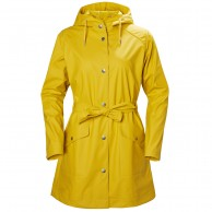 Helly Hansen W Kirkwall II Rain Jacket, womens, yellow