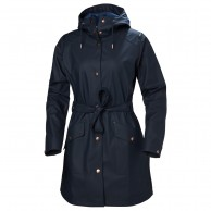 Helly Hansen W Kirkwall II Rain Jacket, womens, navy
