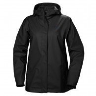 Helly Hansen W Moss, rain Jacket, women, black
