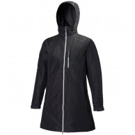 Helly Hansen W Long Belfast Jacket, rain Jacket, women, black