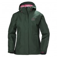 Helly Hansen W Seven J Rain Jacket, jungle